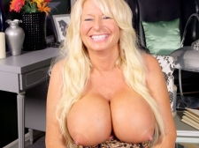 Getting To Know A Huge-titted, Hard-Nippled MILF