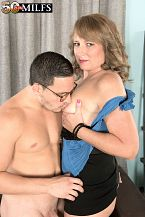 Catrina bonks her paramount friend's son