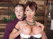 Gina gives fresh meaning to, Shag The Boss!