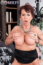 The 60-year-old super-hottie's 1st time